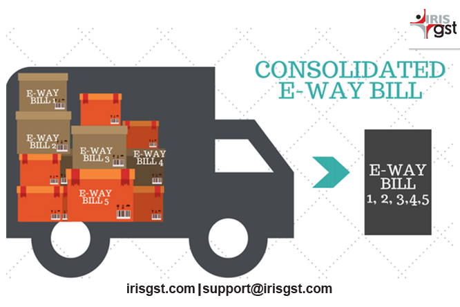 Consolidated E-way Bill: Requirement and Importance