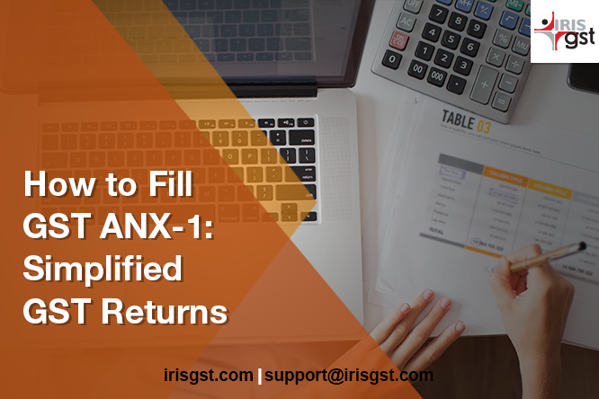 How to Fill GST ANX-1 in New Returns