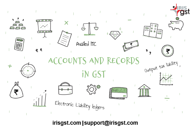 Accounts and Ledgers under GST