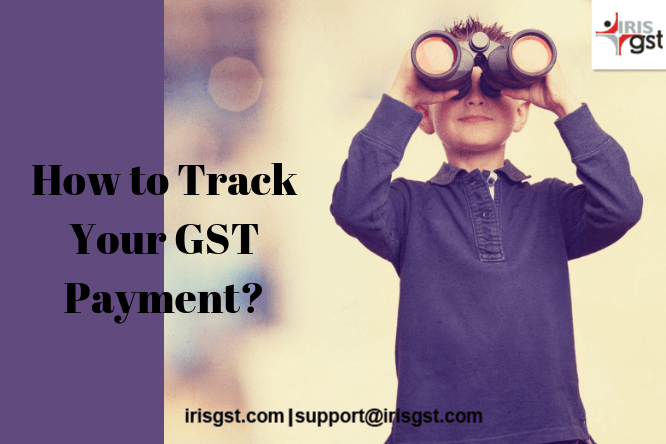 How to track your GST Payment
