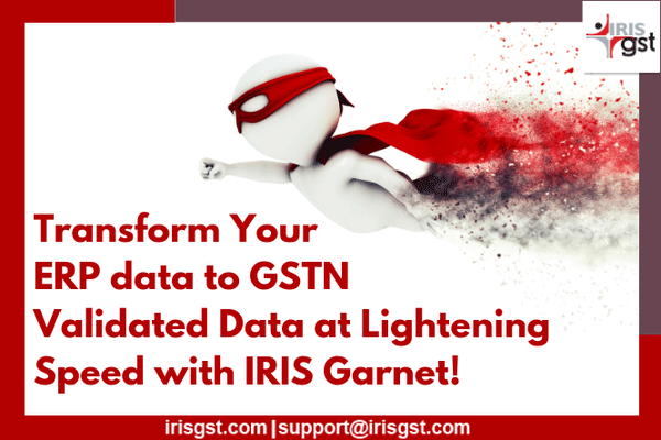 How to transform ERP data to GSTN Validated Data in minutes