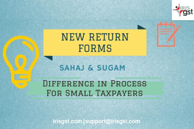 Sahaj & Sugam- Summarized in 8 points for Small Taxpayers