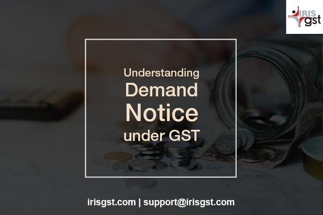 Demand Notice under GST