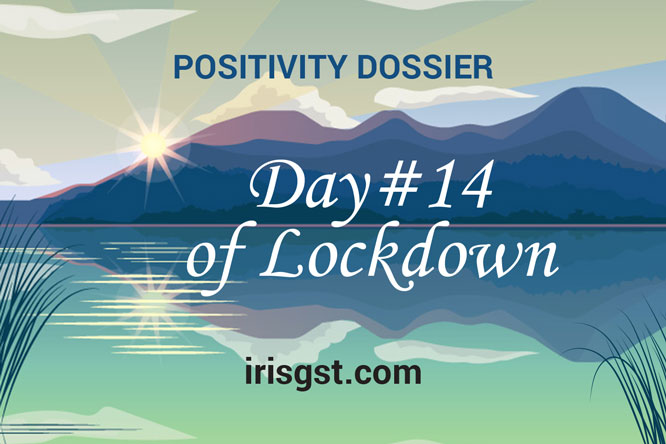 WFH Positivity Dossier- #DAY 14