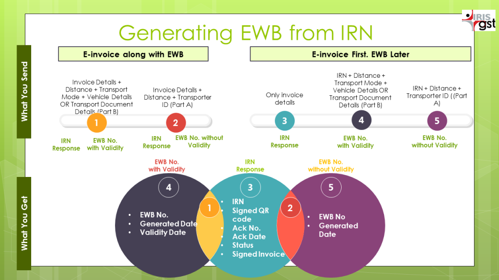 E-Invoicing and e-way bill