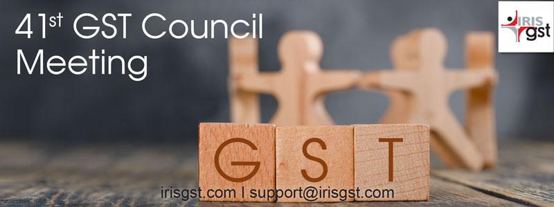 41th GST Council Meeting