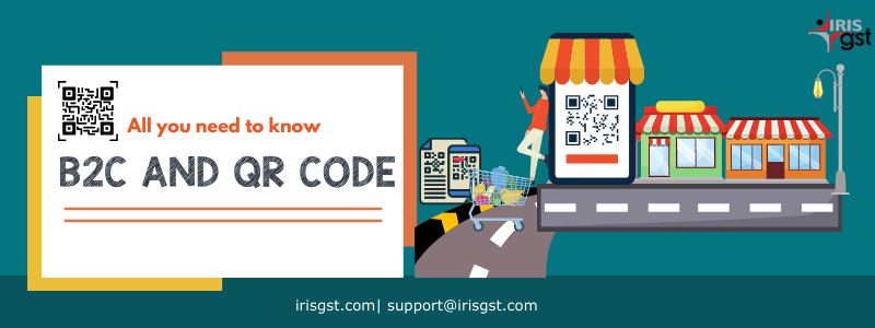 QR Code and B2C Invoices | E-invoicing under GST