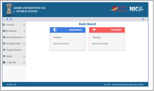 E-invoicing Dashboard
