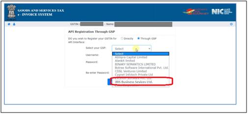 E-invoicing select GPS